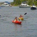 Kayaking in the Great Salt Pond, Block Island