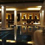 Indoor Pool and Spa Area (Sauna / Steam Room)