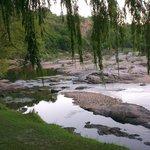 Atardecer sobre Río Yuspe