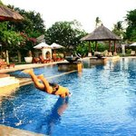 View swiming pool