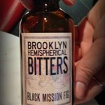 Local Brooklyn Bitters. Do try if you can find this one.