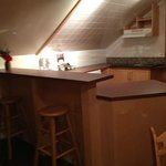 Little kitchenette, eating space