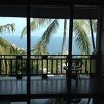 Magnifique vue sur la mer de la chambre