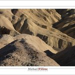 Zabriskie Point formations with person