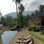 Pool villas & pool