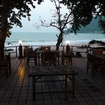 Restaurant & beach
