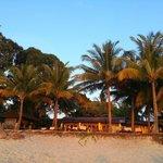 Hôtel Sunset vu de la plage