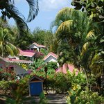 lovely tropical setting and grounds