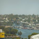 View of Pyrmont from our room - not half as exciting as ones on the other side of the hotel