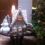 Xmas Decorations in the Lobby