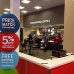 Starbucks in Penfield Target Store