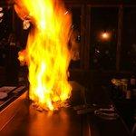 Teppanyaki on Fire!