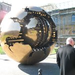 Sphere within sphere ,by Arnaldo Pomodoro - Vatican Courtyard