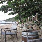 Cooper Island Beach Club beach, comfy beach chairs