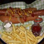 Hot dog delicioso!