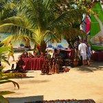 Vendors on the Beach