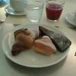 La colazione!!! Tutto buonissimo!!!!