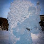Lake Louise & Fairmont Chateau Lake Louise Ice Sculpture