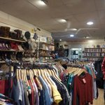 Inside Hearth Research charity shop