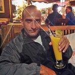 L'amico Cristian,barman che apprezza un ottimo cocktail