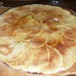 excellent dessert, très fin. tarte flambée aux pommes