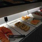 frutas con cartelitos