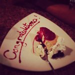 Our delicious cheesecake!