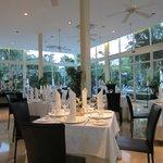 Salle à manger du Gourmet International