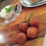 prawn croquettes with aioli