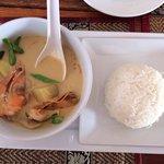 Это самый вкусный Grin Kari sup , который я ел на Пхукете!