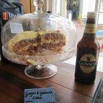 Ginger & Guinness Cake