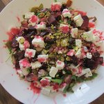 Fetta, Beetroot & Raspberry Salad