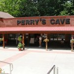 Perry's Cave with the put put golf course right next to it.