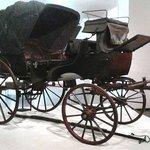 carrozza usata da Garibaldi dopo che fu ferito
