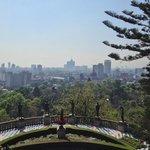 From the upper level of Chapultepec Castle