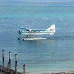 Seaplane Landing at Dry Tortugas