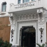 gate of hotel