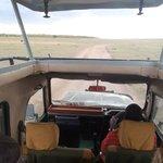 Safari Vehicle at Ilkeliani