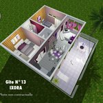 plan app. 2 chambres