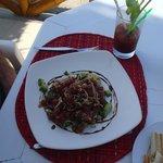 Delicious fresh tuna salad