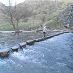 Stepping Stones in Dove Dale