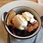 Ollieberry Cobbler - highly recommended.