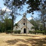 Die St Paul's Church (die 'neue' Kirche in Rabai)