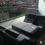 terrasse panoramique au 7ème étage