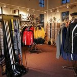 Full-service Pro Shop with equipment rental, sales and skate sharpening