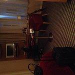 Bedroom - tv, huge desk, ipod dock, prosecco! :)