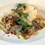 Our amazing cod and cauliflower main dish
