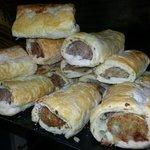 Homemade JUMBO sausage rolls.. mmmm