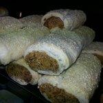 Homemade VEGGIE rolls.. mmmm delicious