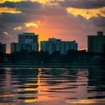 Sunrise across Biscayne Bay (not far from the hotel)
